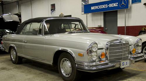 Oldtimer Restoration Center - Mercedes-Benz 280SE Service