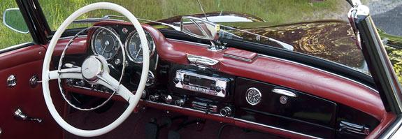 Oldtimer restoration center vintage mercedes benz for Vintage mercedes benz parts