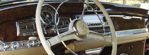Oldtimer Restoration Center Mercedes Benz Upholstery Interior