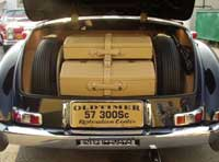 Mercedes benz forum factory luggage set for Mercedes benz suitcase